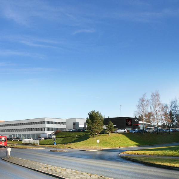 Sulland Trondheim sett mot nord fra Vestre Rosten