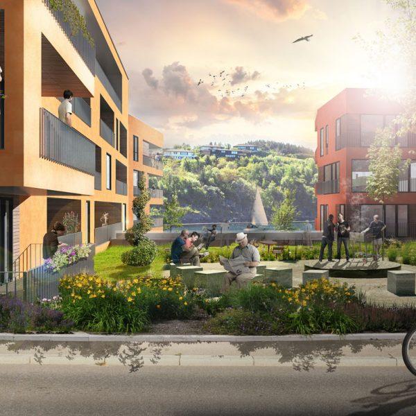 Kikk-mellom-hus-5-og-6-sett-fra-Strandgata-Alternative-fasader