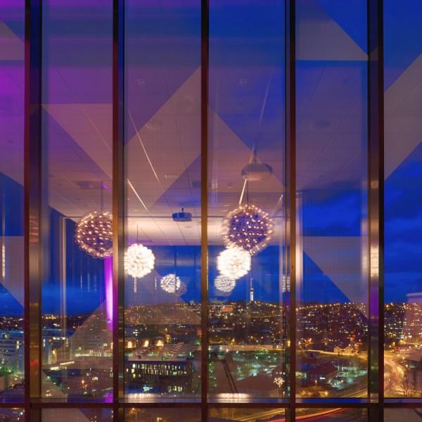 nattutsikt fra skybaren 1